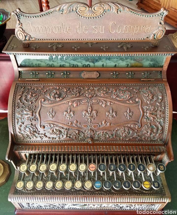 ANTIGUA CAJA REGISTRADORA (Antigüedades - Técnicas - Aparatos de Cálculo - Cajas Registradoras Antiguas)