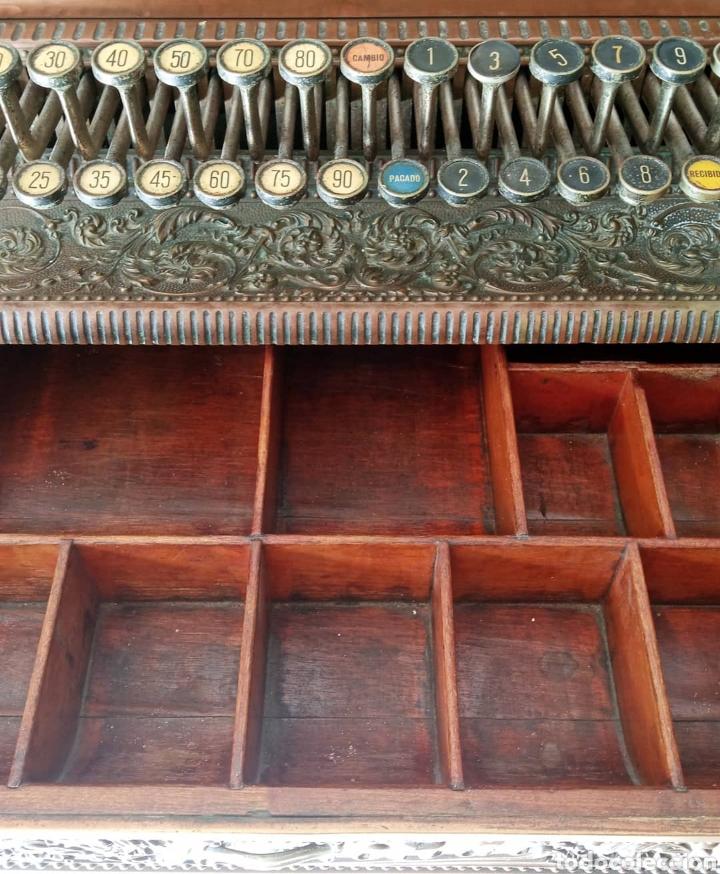 Antigüedades: Antigua Caja Registradora - Foto 2 - 243577845