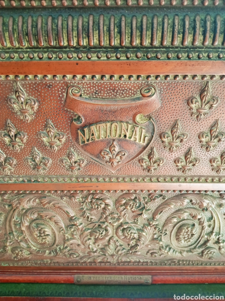 Antigüedades: Antigua Caja Registradora - Foto 4 - 243577845