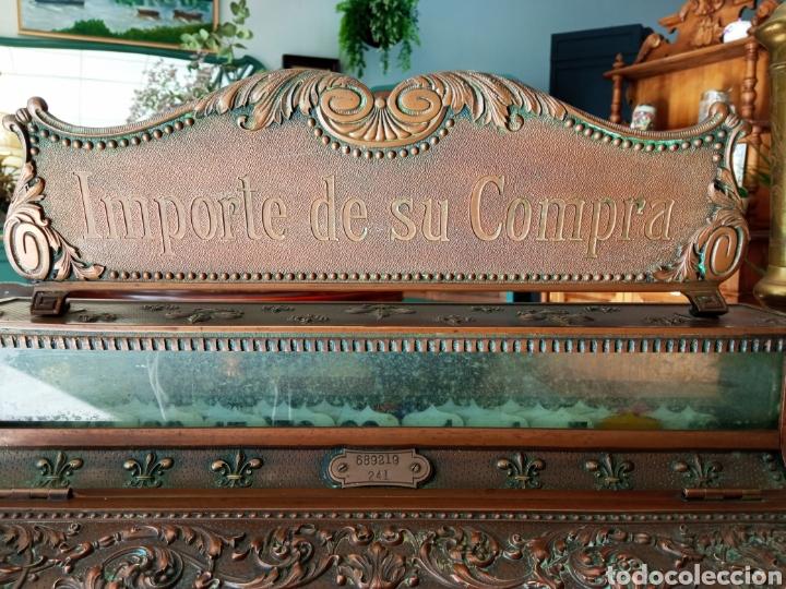 Antigüedades: Antigua Caja Registradora - Foto 6 - 243577845