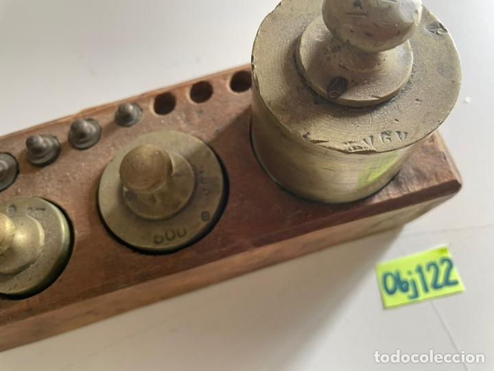 Antigüedades: Antiguo juego de peso - Foto 3 - 243633505