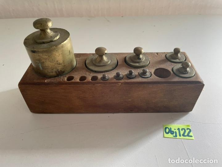 ANTIGUO JUEGO DE PESO (Antigüedades - Técnicas - Medidas de Peso Antiguas - Otras)
