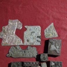 Antigüedades: BLOQUES DE PRENSA DE PATRON. Lote 243660175