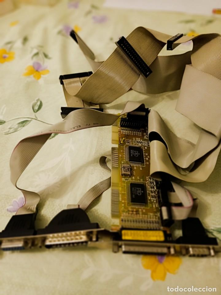 PLACA CONTROLADORA DE TODO IMPRESORA D25 DISQUETERAS Y 2 HD RETRO (Antigüedades - Técnicas - Ordenadores hasta 16 bits (anteriores a 1982))