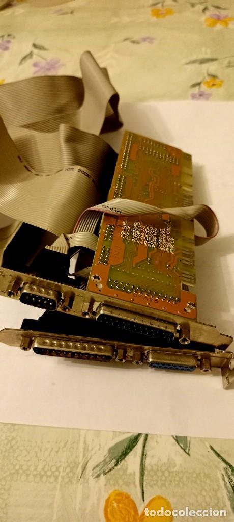 Antigüedades: Placa controladora de todo impresora D25 disqueteras y 2 HD retro - Foto 2 - 243667155