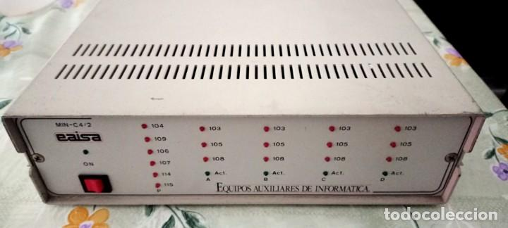 DISTRIBUIDOR EAISA EQUIPOS AUXILIARES DE INFORMÁTICA RS 232 (Antigüedades - Técnicas - Ordenadores hasta 16 bits (anteriores a 1982))