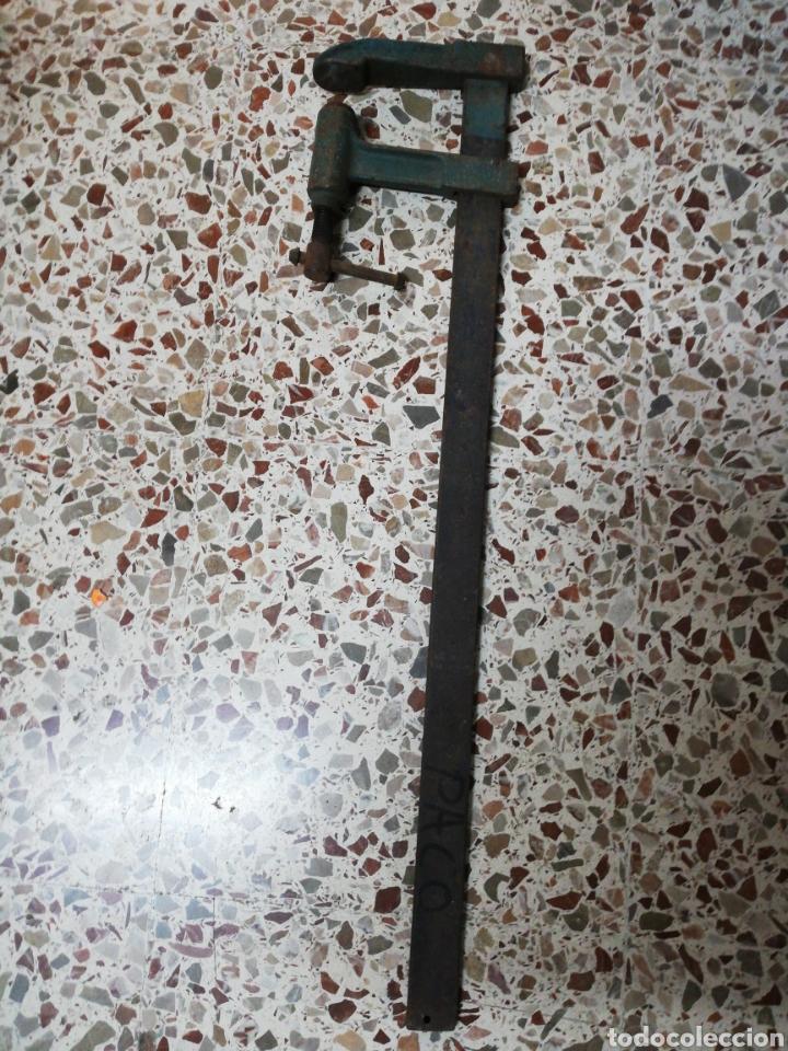 ANTIGUO GATO DE CARPINTERO EN PERFECTO ESTADO DE FUNCIONAMIENTO (Antigüedades - Técnicas - Herramientas Profesionales - Carpintería )