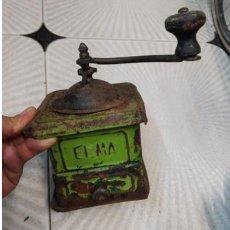Antigüedades: ANTIGUO MOLINILLO DE CAFÉ ELMA 1..CHAPA.. Lote 243815085