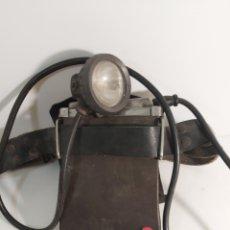 Antigüedades: LAMPARA DE MINERO. Lote 243831200