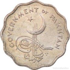 Antigüedades: MONEDA, PAKISTÁN, 10 PICE, 1961, MBC, COBRE - NÍQUEL, KM:20. Lote 243957035