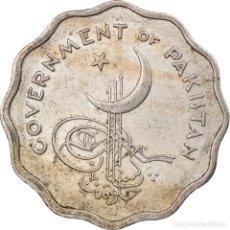 Antigüedades: MONEDA, PAKISTÁN, 10 PICE, 1961, BC+, COBRE - NÍQUEL, KM:20. Lote 243958455