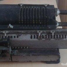 Antigüedades: CALCULADORA DE MOLINETE SUECO DE 1.939.. Lote 244186280