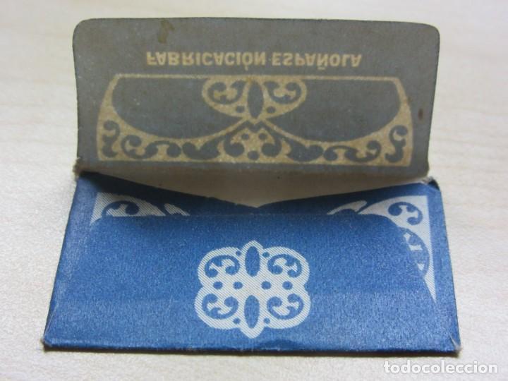 Antigüedades: Funda de cuchilla de afeitar Klinge Años 40 - Foto 3 - 244190900