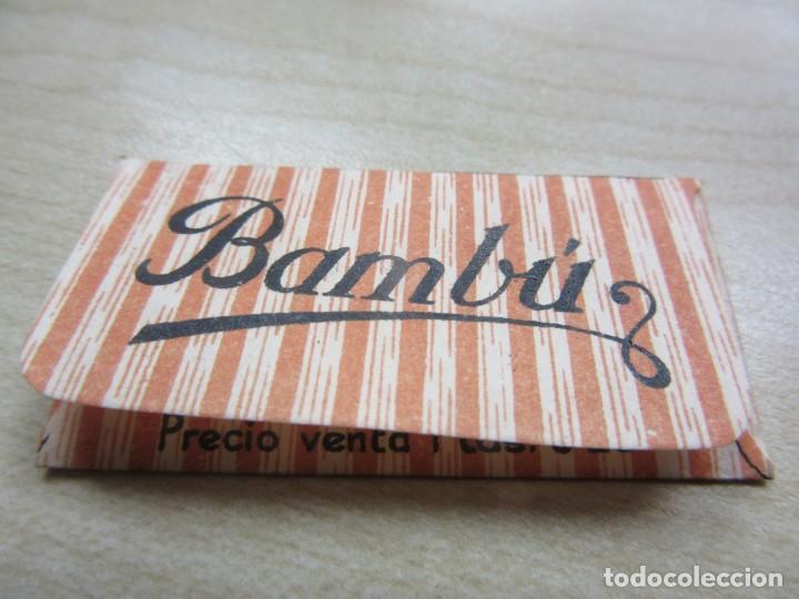 Antigüedades: Cuchilla de afeitar Bambú Años 40 - Foto 2 - 244192800