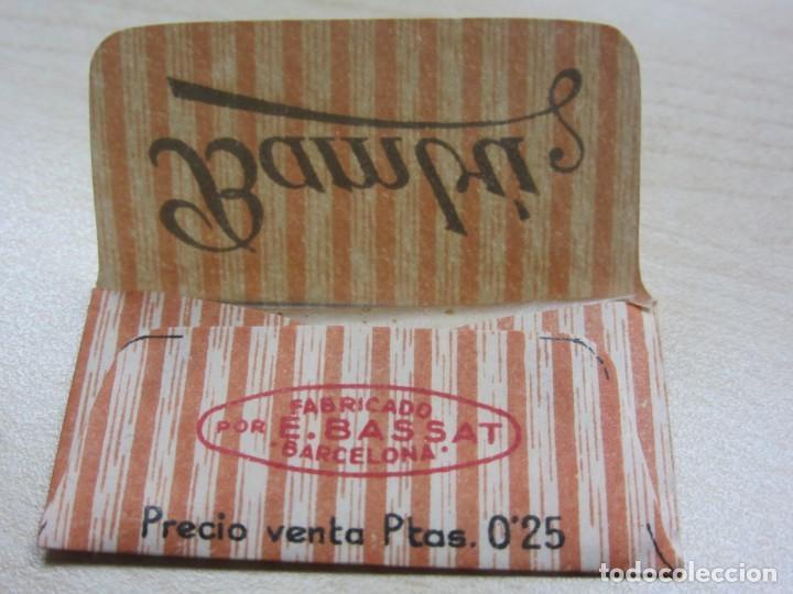 Antigüedades: Cuchilla de afeitar Bambú Años 40 - Foto 7 - 244192800