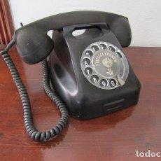 Teléfonos: TELÉFONO DE MESA DANÉS ANTIGUO DE BAQUELITA DE LA STATSTELEFONEN MODELO FABRICADO EN EL AÑO 1961. Lote 244336680