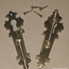 Antigüedades: TIRADORES PARA ARMARIO. Lote 244467420