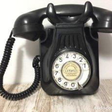 Teléfonos: TELEFONO BAQUELITA PARED NEGRO. Lote 244588600