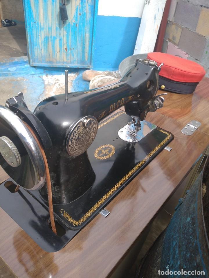 Antigüedades: maquina de coser antigua - Foto 2 - 244589375