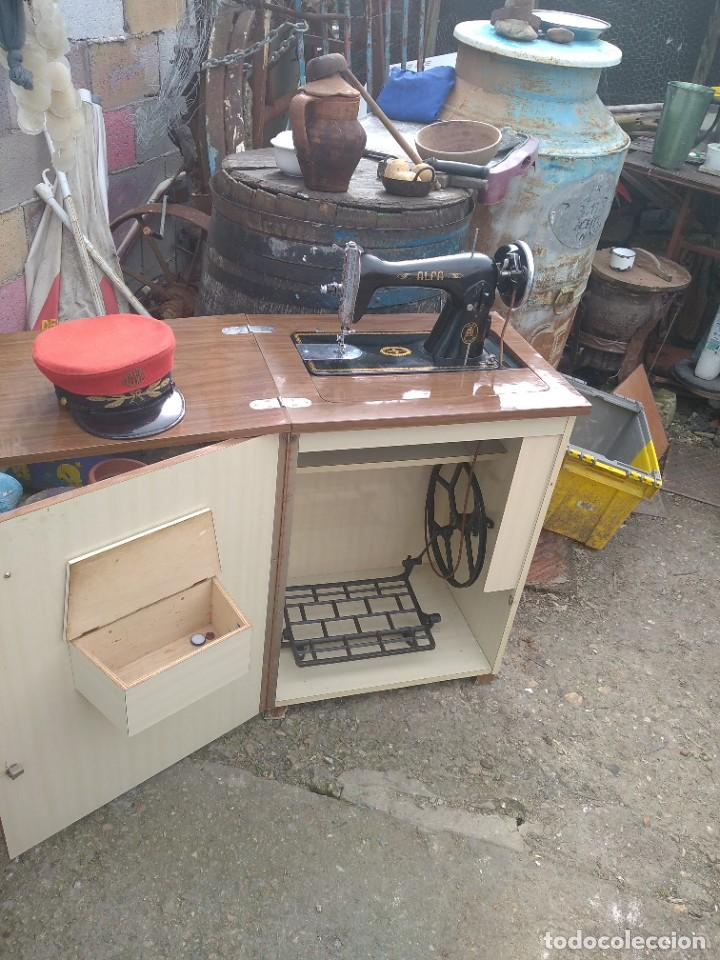 Antigüedades: maquina de coser antigua - Foto 6 - 244589375