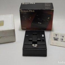 Antigüedades: RARA Y VINTAGE BRAUN FK4 AUTOMATIC STD 8MM SUPER 8 CINE FILM. Lote 244699365