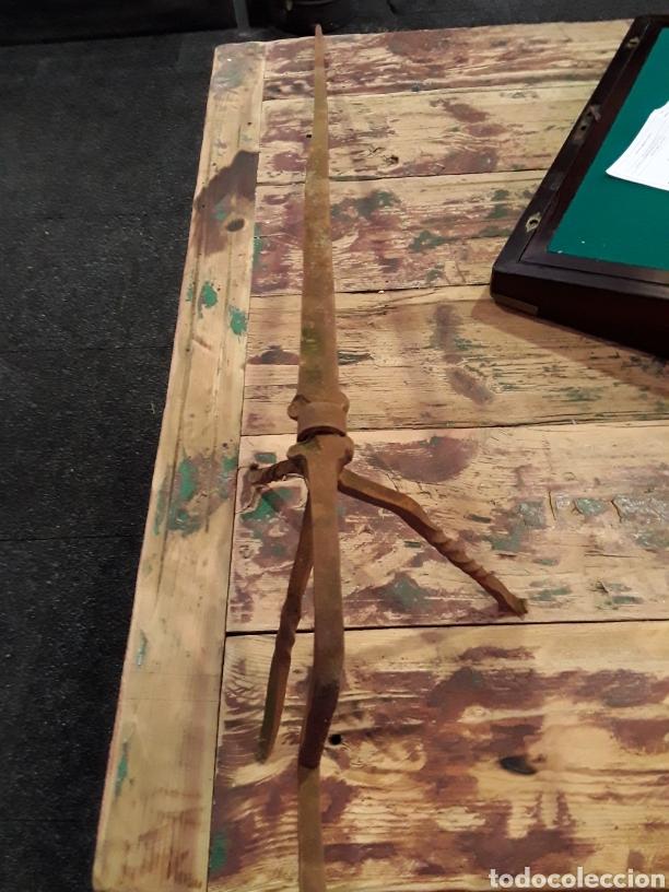 Antigüedades: Asadera de espada en forja - Foto 12 - 244708105