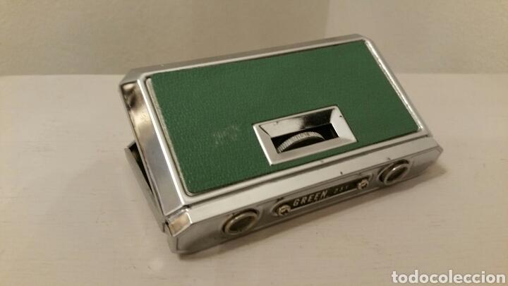 Antigüedades: Antiguos Anteojos (prismáticos) de teatro. GREEN - 2,5 X 25 mm. Plegables compact. (Japan) Años 70. - Foto 4 - 244757550