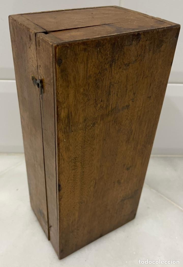 Antigüedades: ANTIGUO MICROSCOPIO FRANCÉS DE LATÓN SIGLO XIX - Foto 22 - 244768575