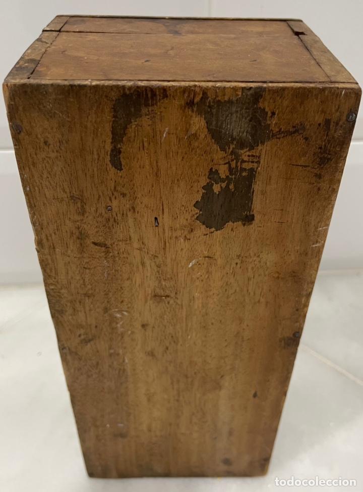 Antigüedades: ANTIGUO MICROSCOPIO FRANCÉS DE LATÓN SIGLO XIX - Foto 24 - 244768575
