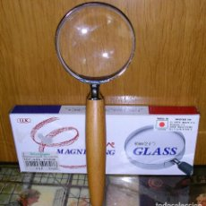 "Antigüedades: LUPA CON MANGO ""MAGNIFYING GLASS"". Lote 244968425"