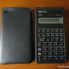 Antigüedades: CALCULADORA HP 20S HEWLETT PACKARD CIENTIFICA SCIENTIFIC HP-20S ELECTRONIC CALCULATOR AÑOS 80.. Lote 244978680