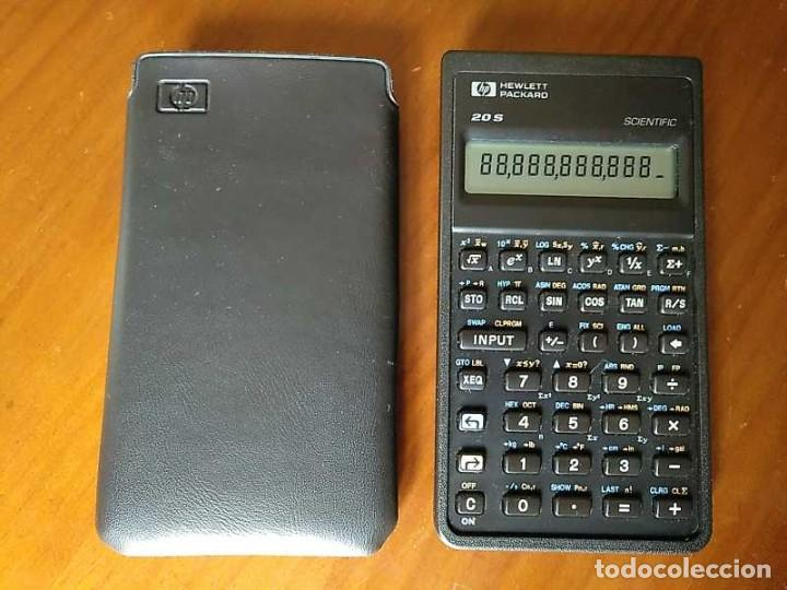 Antigüedades: CALCULADORA HP 20S HEWLETT PACKARD CIENTIFICA SCIENTIFIC HP-20S ELECTRONIC CALCULATOR AÑOS 80. - Foto 11 - 244978680