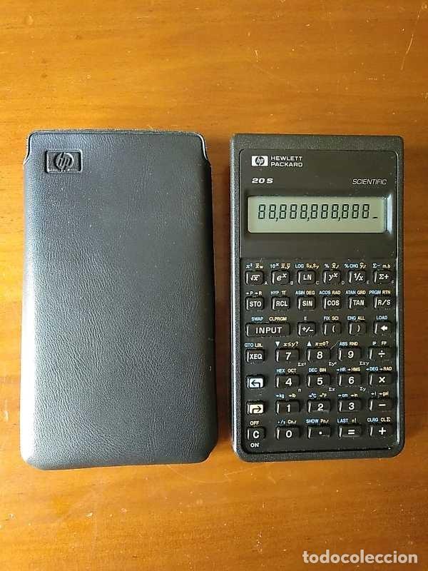Antigüedades: CALCULADORA HP 20S HEWLETT PACKARD CIENTIFICA SCIENTIFIC HP-20S ELECTRONIC CALCULATOR AÑOS 80. - Foto 14 - 244978680