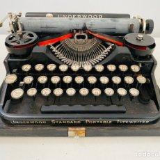 Antigüedades: UNDERWOOD 3-BANK PORTABLE TYPEWRITER 1920,S. Lote 244983205