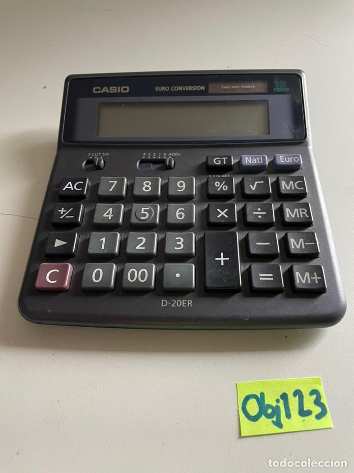CALCULADORA CASIO D-20ER (Antigüedades - Técnicas - Aparatos de Cálculo - Calculadoras Antiguas)