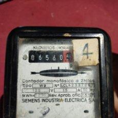 Antigüedades: CONTADO DE LUZ ANTIGUA AÑO 1931. Lote 245110865
