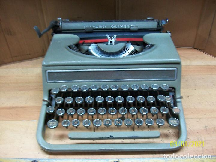 MAQUINA DE ESCRIBIR HISPANO OLIVETTI-MODELO STUDIO 46 (Antigüedades - Técnicas - Máquinas de Escribir Antiguas - Olivetti)