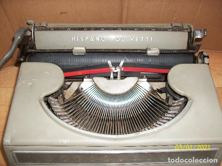 Antigüedades: MAQUINA DE ESCRIBIR HISPANO OLIVETTI-MODELO STUDIO 46 - Foto 2 - 245112120