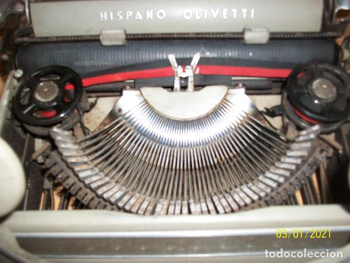 Antigüedades: MAQUINA DE ESCRIBIR HISPANO OLIVETTI-MODELO STUDIO 46 - Foto 4 - 245112120