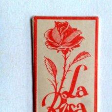 Antigüedades: HOJA DE AFEITAR ANTIGUA,LA ROSA ACANALADA.. Lote 245243795