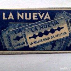 Antigüedades: HOJA DE AFEITAR ANTIGUA,LA NUEVA,LA MEJOR.. Lote 245245205