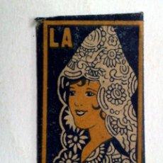 Antigüedades: HOJA DE AFEITAR ANTIGUA,LA ANDALUZA,INSUPERABLE.. Lote 245245985