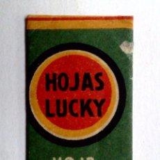 Antigüedades: HOJA DE AFEITAR ANTIGUA,LUCKY,INSUPERABLE.. Lote 245246435
