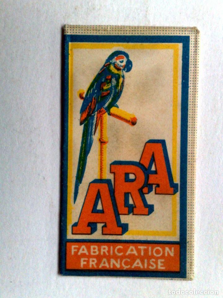 HOJA DE AFEITAR ANTIGUA,ARA-PARIS. (Antigüedades - Técnicas - Barbería - Hojas de Afeitar Antiguas)