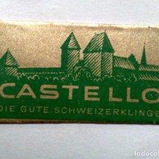 Antigüedades: HOJA DE AFEITAR ANTIGUA,CASTELLO,SCHWEIZERKLINGE.. Lote 245252480