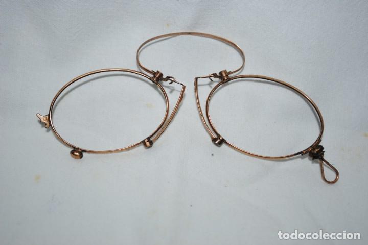 ANTIGUAS GAFAS TIPO QUEVEDO . (Antigüedades - Técnicas - Instrumentos Ópticos - Gafas Antiguas)
