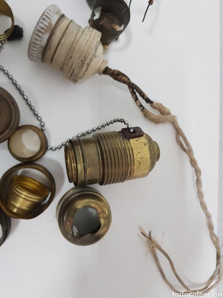 Antigüedades: Lote material electrico antiguo - Foto 4 - 245302510