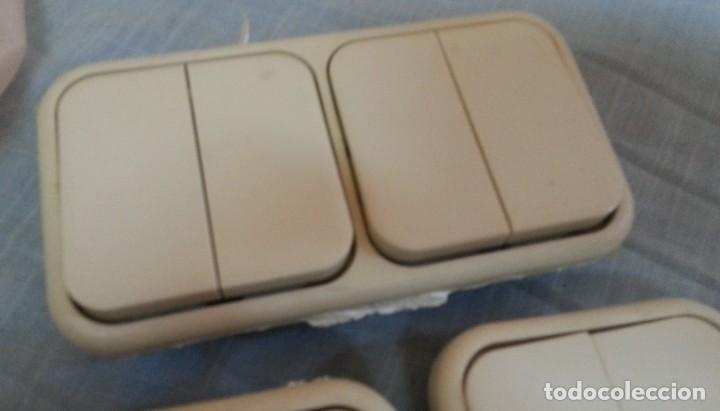 Antigüedades: Interruptores vintage. Años 90. Tres unidades. - Foto 2 - 245351650