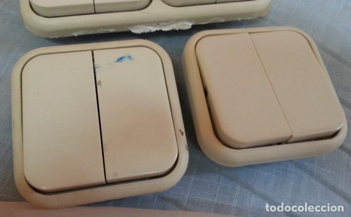 Antigüedades: Interruptores vintage. Años 90. Tres unidades. - Foto 3 - 245351650