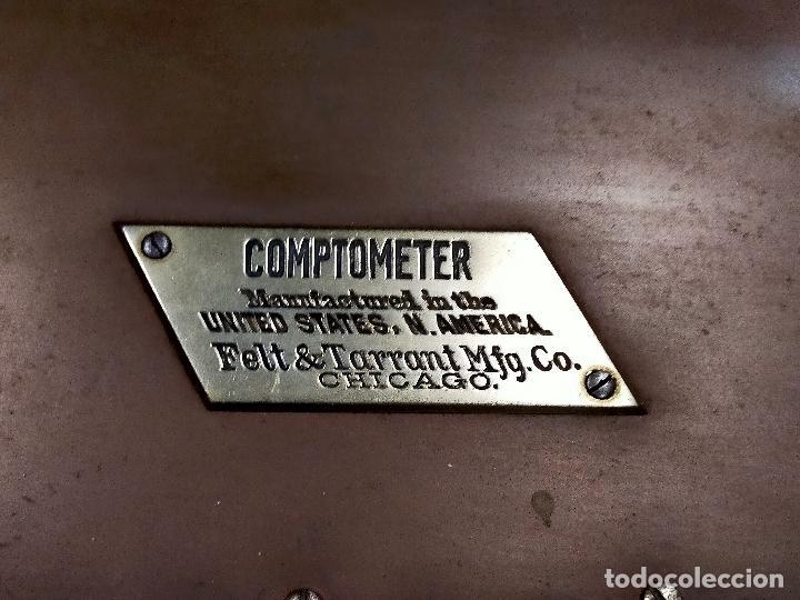 Antigüedades: CALCULADORA MÁQUINA DE CALCULAR COMPTOMETER 1910 - Foto 7 - 245356880